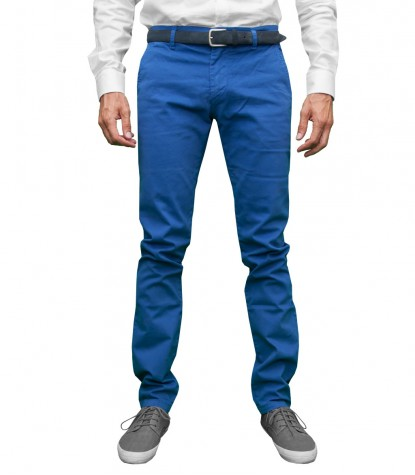 Trousers Capri Cotton Ink Blue