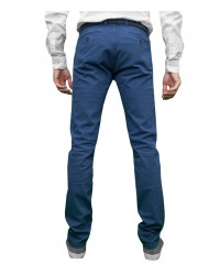 Trousers Capri Cotton Light Blue