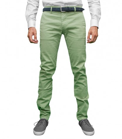 Trousers Capri Lime Green