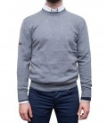 Knitwear Roma Blended Cachemire Medium Grey Blue