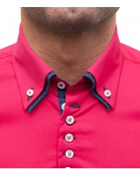 Shirt Donatello poplin Fuchsia