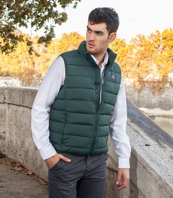 Down-jacket Napoli Dark Green
