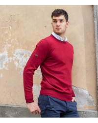 Knitwear Roma Mixed wool Red Bordeaux