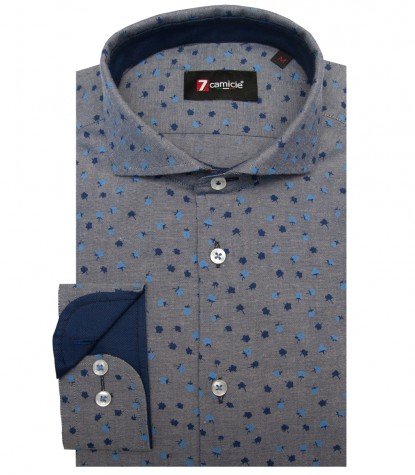 Shirt Napoli Oxford BlueLight Blue
