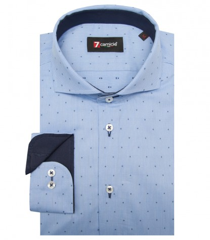 Shirt Napoli Poplin Light BlueBlue