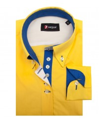 Shirt Silvia poplin Yellow