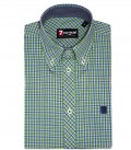 Shirt Matteo Light GreenBlue