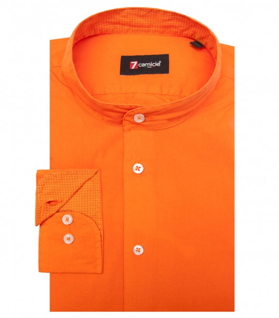 Shirt Caravaggio poplin Orange