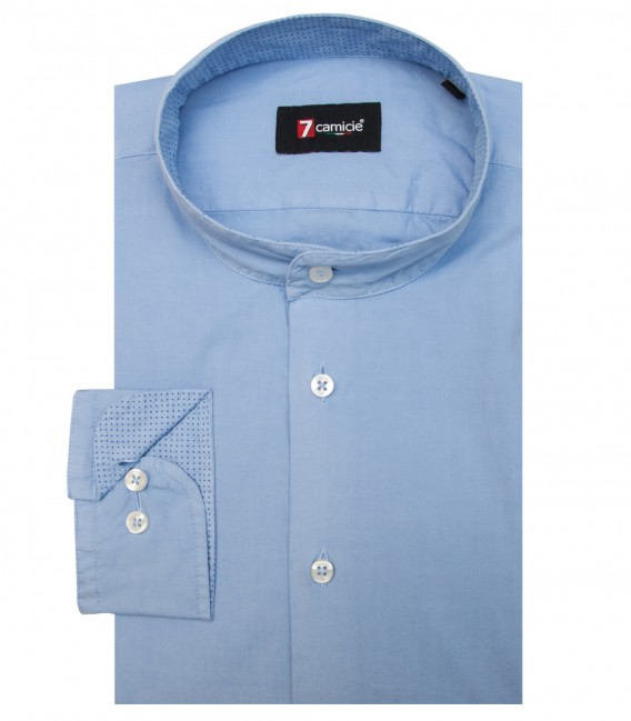 Shirt Caravaggio poplin Light Blue