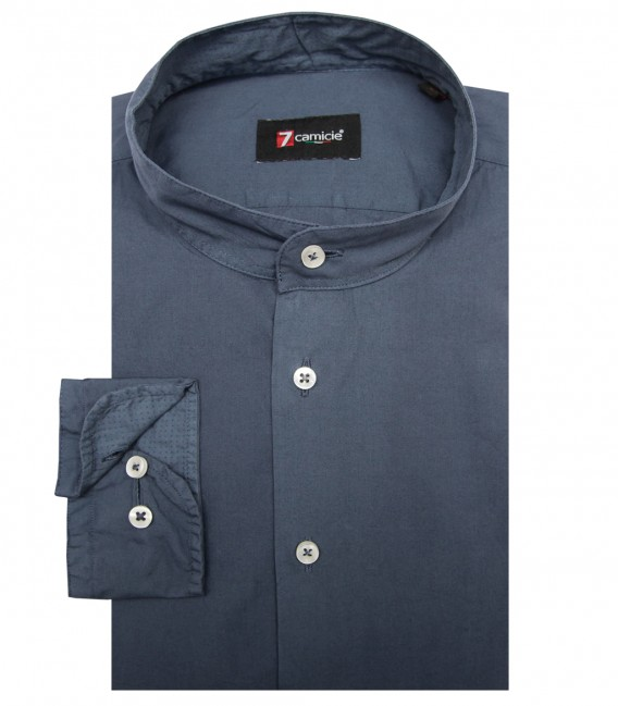 Shirt Caravaggio poplin Dark Grey