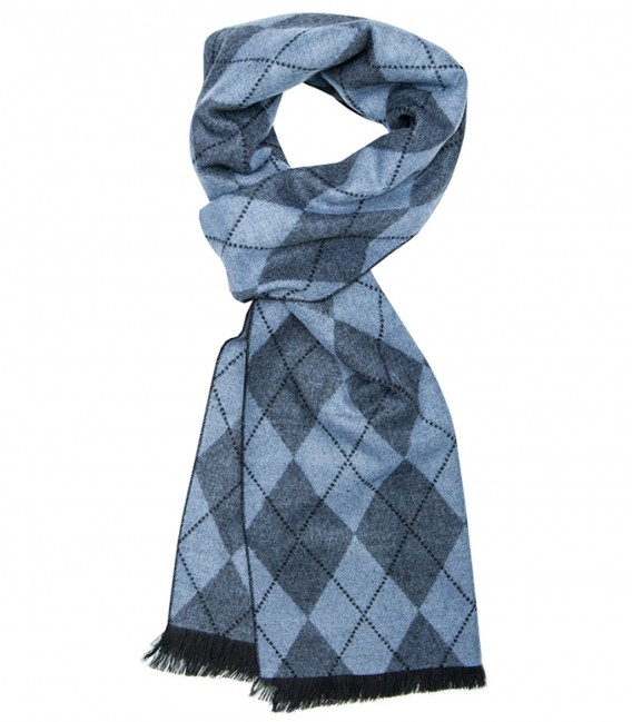 Double-faced scarf