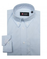Shirt Francesco stretch poplin Light Blue