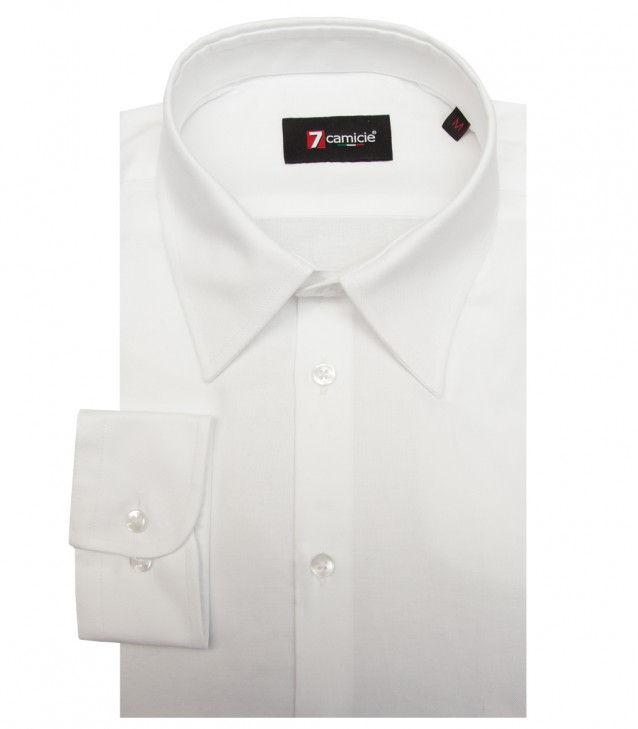 Camisas Roma Oxford Blanco