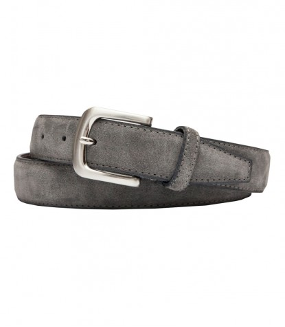Ceintures homme Plaine Medium Grey