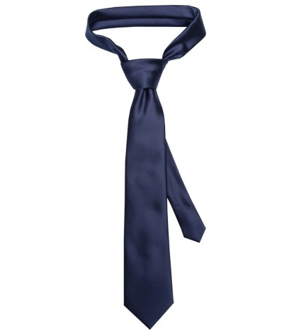 Stain Proof Tie Trevi Polyester Blu