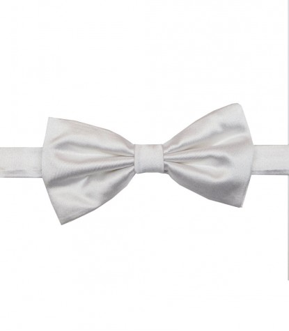 Bow tie Antimanchas Roma Seda Blanco
