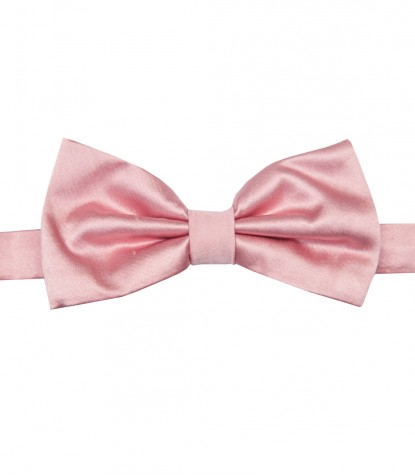 Stain Proof Bow Tie Roma Silk Pink