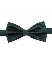 Stain Proof Bow Tie Roma Silk Dark Green