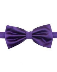 Stain Proof Bow Tie Roma Silk Violet