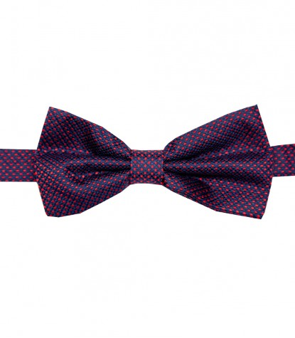 Stain Proof Bow Tie Roma Silk BlueRed