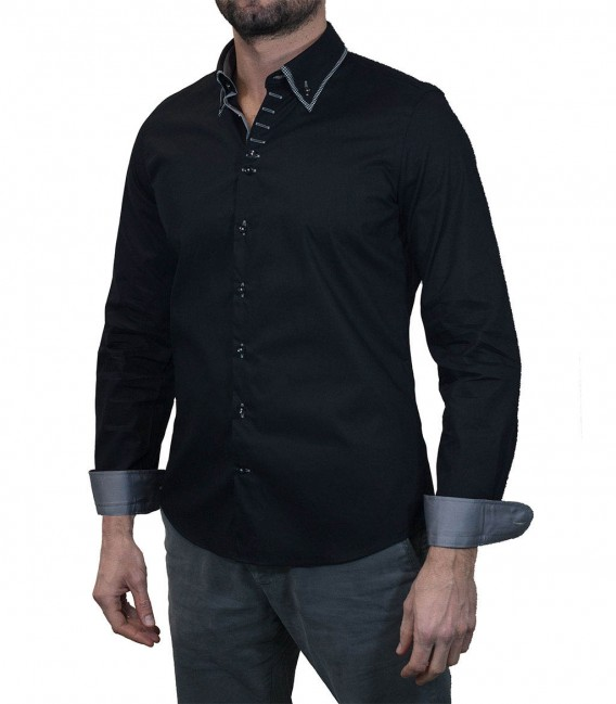 Camicia Donatello Nero