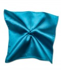 Stain Proof Pochette Roma Silk Teal Green