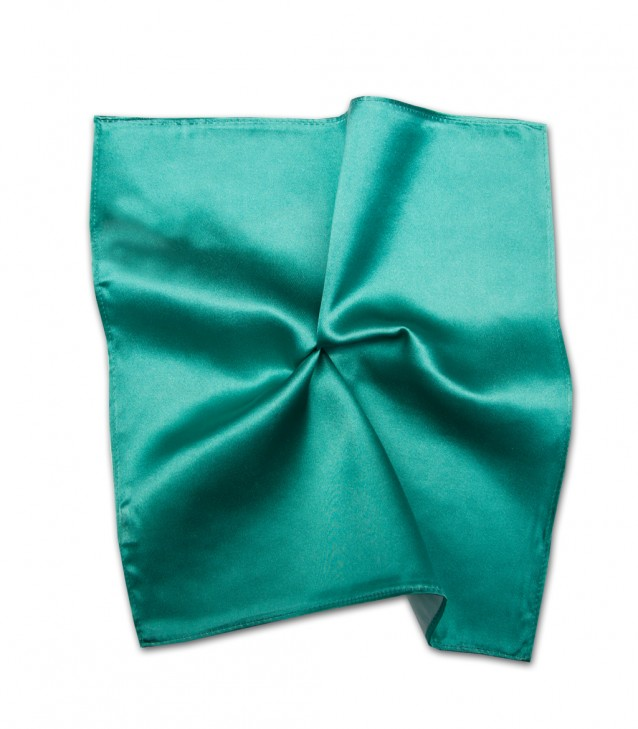 Stain Proof Pochette Roma Silk Water Green