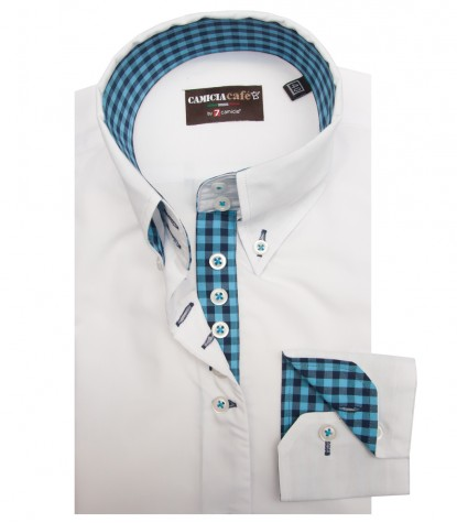 Shirt Silvia Cotton Polyester White