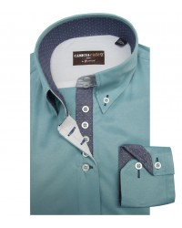 Shirt Silvia Cotton Polyester Water Green