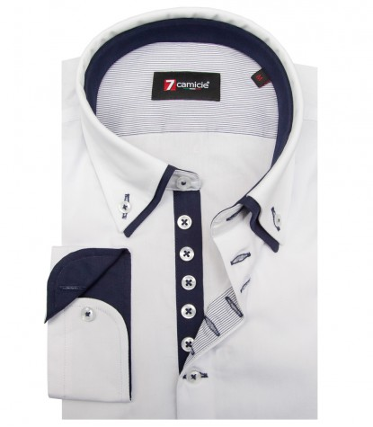 Shirt Donatello poplin White