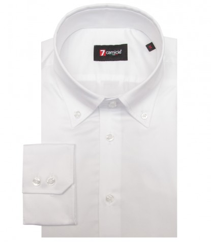 Shirt Roma Satin White