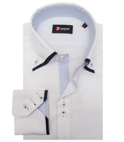 Shirt Colosseo Satin White