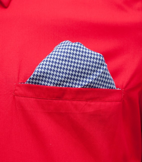 Shirt Tiziano poplin Red