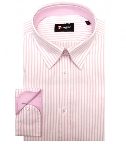 Shirt Leonardo Oxford WhitePink