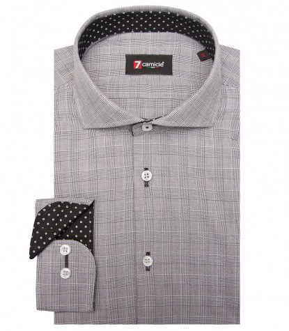 Shirt Firenze Cotton BlackWhite