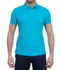 Polo Capri Piquet Melange Light Blue