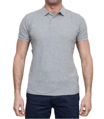Polo Capri Piquet Light Grey