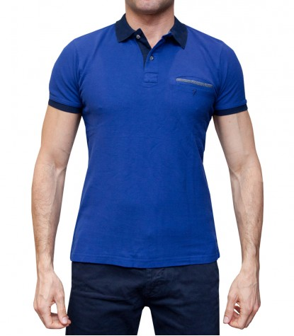 Polo Capri Piquet Bluette