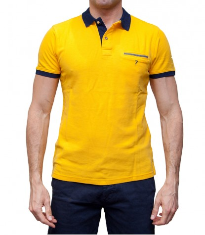 Polo Capri Piquet Yellow