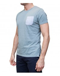 Polo Capri Cotton Melange Light Blue