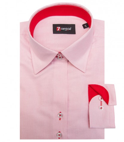Shirt Linda Oxford Light Red