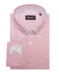 Shirt Marco Polo Oxford Light Red