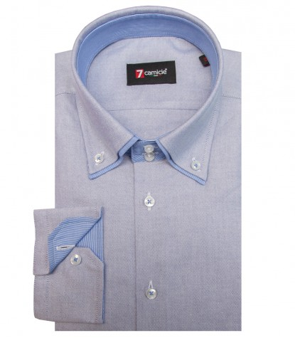Camicia Marco Polo Oxford Blu Inchiostro