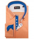 Shirt Roma Honeycomb fabric Orange