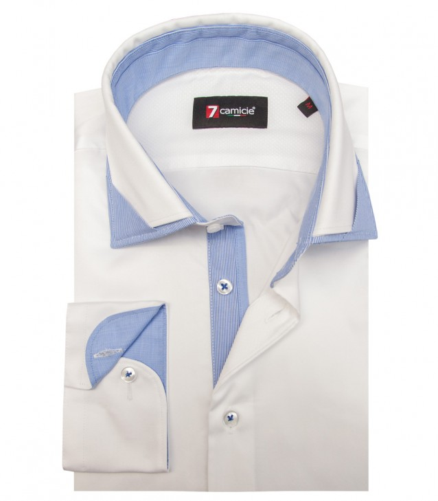 Shirt Lorenzo Satin White