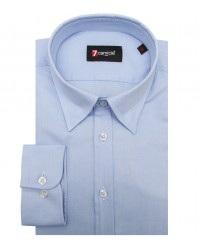 Shirt Leonardo Cotton Polyester Ink Blue