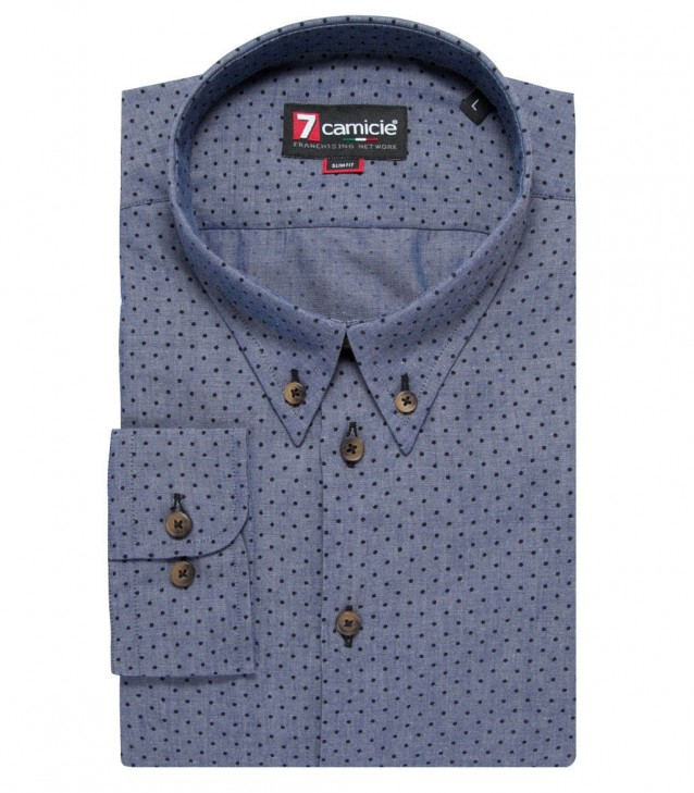 Shirt Leonardo Medium GreyBlack