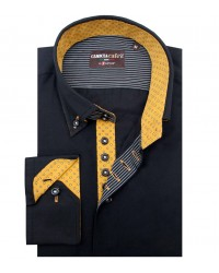 Shirt Roma Cotton Polyester Black