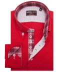 Shirt Roma Cotton Polyester Red