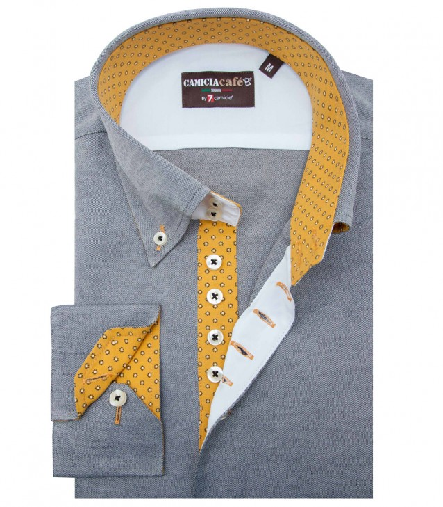 Shirt Roma Light Grey